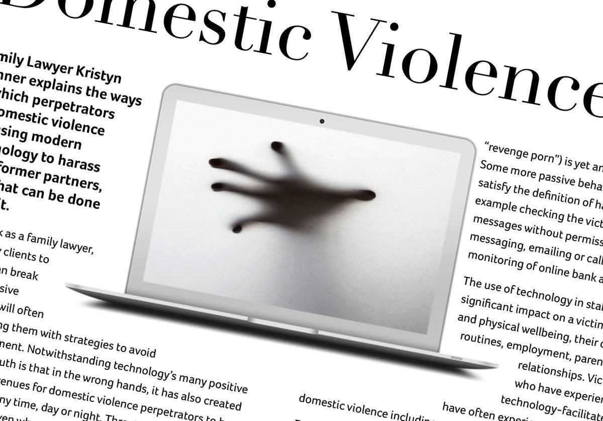 Domestic Violence Goes Digital